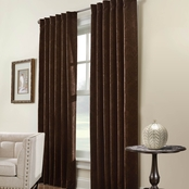 Commonwealth Home Fashions Belgique Thermalogic Back Tab Drapery Panel 50 X 95