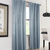 Commonwealth Home Fashions Domino Thermalogic Back Tab Drapery Panel 50 X 95
