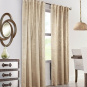 Commonwealth Home Fashions Domino Thermalogic Back Tab Drapery Panel 50 X 108