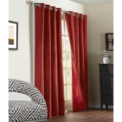 Commonwealth Home Fashions Navar Grommet Top Drapery Panel