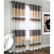 Commonwealth Home Fashions Talia Semi Sheer Grommet Top Window Panel