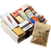 The Gourmet Market Spicy Gourmet Meat and Cheese Gift Crate