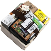 The Gourmet Market Organic Coffee and Tea Gift Crate