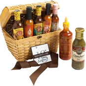 The Gourmet Market Ultimate Hot Sauce Lover's Gift Chest