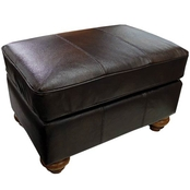 Best Home Furnishings Osmond Leather Match Ottoman