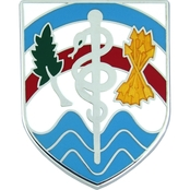 Army Northern Regional Medical Command Unit Crest