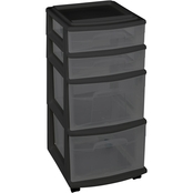 Homz 4 Drawer Medium Cart