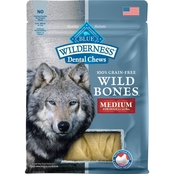 Blue Buffalo Wilderness Wild Bones Dental Chews, Medium