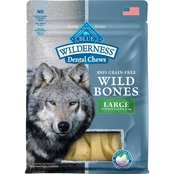 Blue Buffalo Wilderness Wild Bones Dental Chews, Large