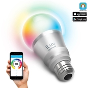 iLuv Ranbow 7 Smart Bluetoth App Controlled LED Light Bulb