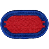 Army Oval 501st Infantry 2nd Battalion, Sew-On