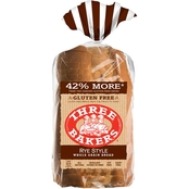 Three Bakers Gluten-Free Whole Grain Rye Style Bread, 2 Loaves