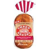 Three Bakers Gluten-Free Whole Grain 4 ct. Hamburger Buns, 2 pk.