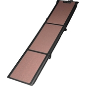 Pet Gear Full Length Tri-Fold Pet Ramp, Chocolate