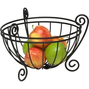 Spectrum Diversified Scroll Fruit Bowl