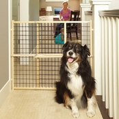 North States Extra Wide Wire Mesh Petgate