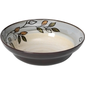 Pfaltzgraff Everyday Rustic Leaves Round Vegetable Bowl