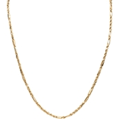 PalmBeach 10K Yellow Gold Diamond Cut Rope Chain, 22 in.