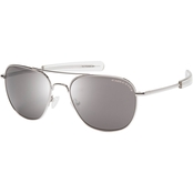 Eagle Eyes Freedom 31 R57 Sunglasses, Silver Frame/Gray Lens