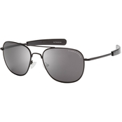 Eagle Eyes Freedom 32 R52 Sunglasses, Black Frame/Gray Lens