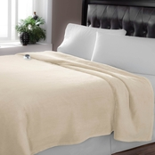 Serta Luxe Plush Warming Throw