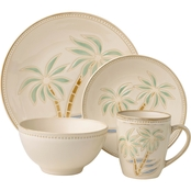 Pfaltzgraff Everyday Palm 16 Pc. Dinnerware Set