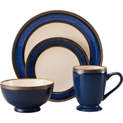 Pfaltzgraff Everyday Catalina Cobalt 16 Pc. Dinnerware Set