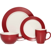 Pfaltzgraff Everyday Harmony Red 16 Pc. Dinnerware Set