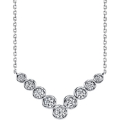 Sirena 14K Gold 1/4 CTW Diamond Necklace