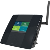 Amped Wireless High Power Touch Screen Wi Fi Range Extender