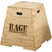 RAGE Fitness 24 In. RAGE Wooden Puzzle Plyo Box