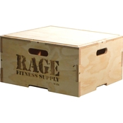 RAGE Fitness 8 In. RAGE Stackable Plyo Box