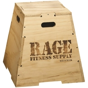RAGE Fitness 30 In. RAGE Wooden Puzzle Plyo Box