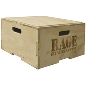 RAGE Fitness 12 In. RAGE Stackable Plyo Box
