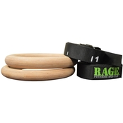 RAGE Fitness RAGE Wood Ring Set
