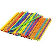 Kizmos Assorted Jumbo Flex Straws 125 Pk.