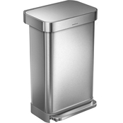 Simplehuman 45L Rectangular Step Can
