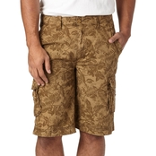 Wearfirst Tropical Print Cargo Shorts