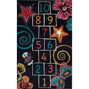 Mohawk Home Hopscotch Chalk Rug 60 x 96 in.