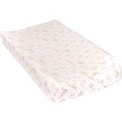 Trend Lab Garden Gnomes Flannel Changing Pad Cover