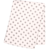 Trend Lab Gray Dot Flannel Swaddle Blanket