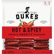 Duke's Hot and Spicy Smoked Shorty Sausages 16 oz.