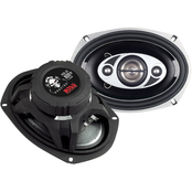 Boss Audio 6 X 9 Phantom Speaker with Electroplate Injection Cone