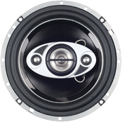 Boss Audio 4.5 Phantom Speakers with Electroplate Injection Cone