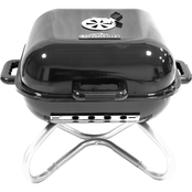 RiverGrille 18 In. Square Table Top Kettle Grill