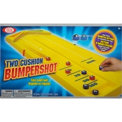 Ideal Two Cushion Bumpershot Shuffleboard Tabletop Game