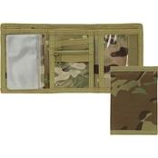 Mercury Luggage Multicam Velcro Trifold Wallet