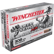 Winchester Deer Season .308 Win 150 Gr. Extreme Point Polymer Tip, 20 Rounds