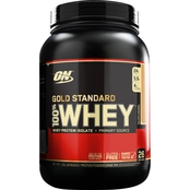 Optimum Nutrition Gold Standard 100% Whey, Salty Caramel, 2 lb.