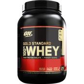 Optimum Nutrition Gold Standard 100% Whey, Cake Donut, 2 lb.